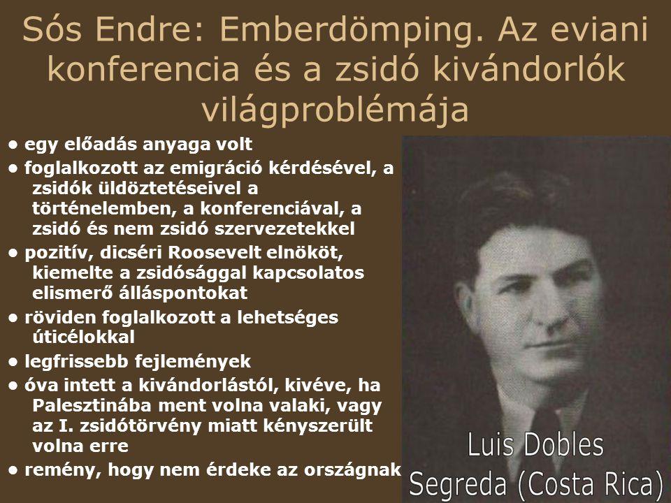 Sós Endre: Emberdömping.
