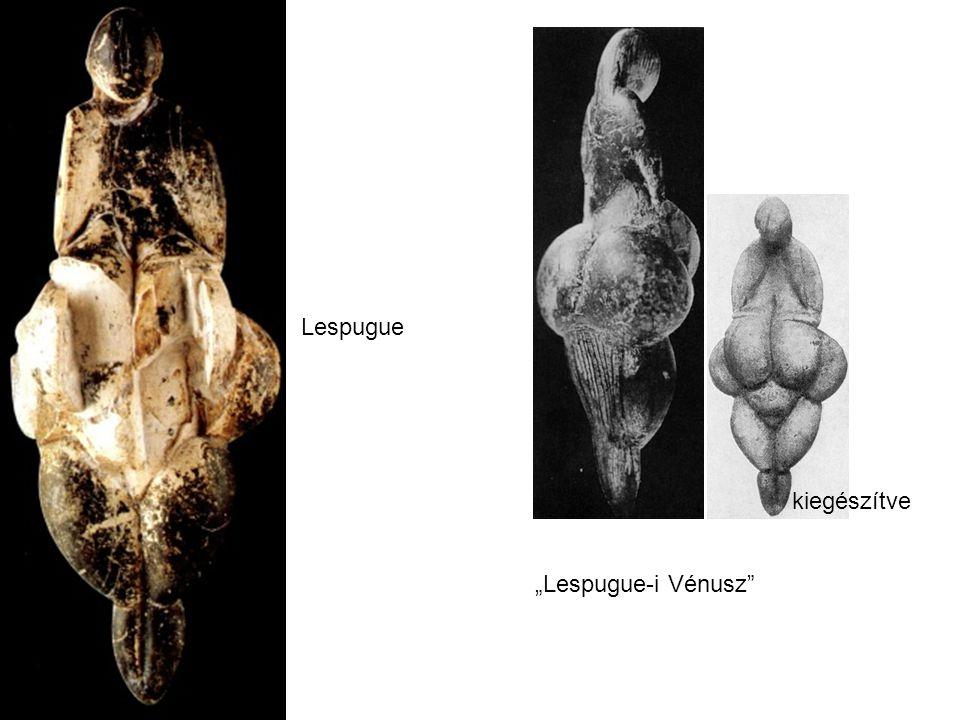 """""""Lespugue-i Vénusz"""" kiegészítve Lespugue"""
