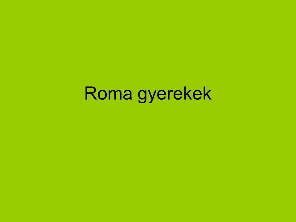 Roma gyerekek