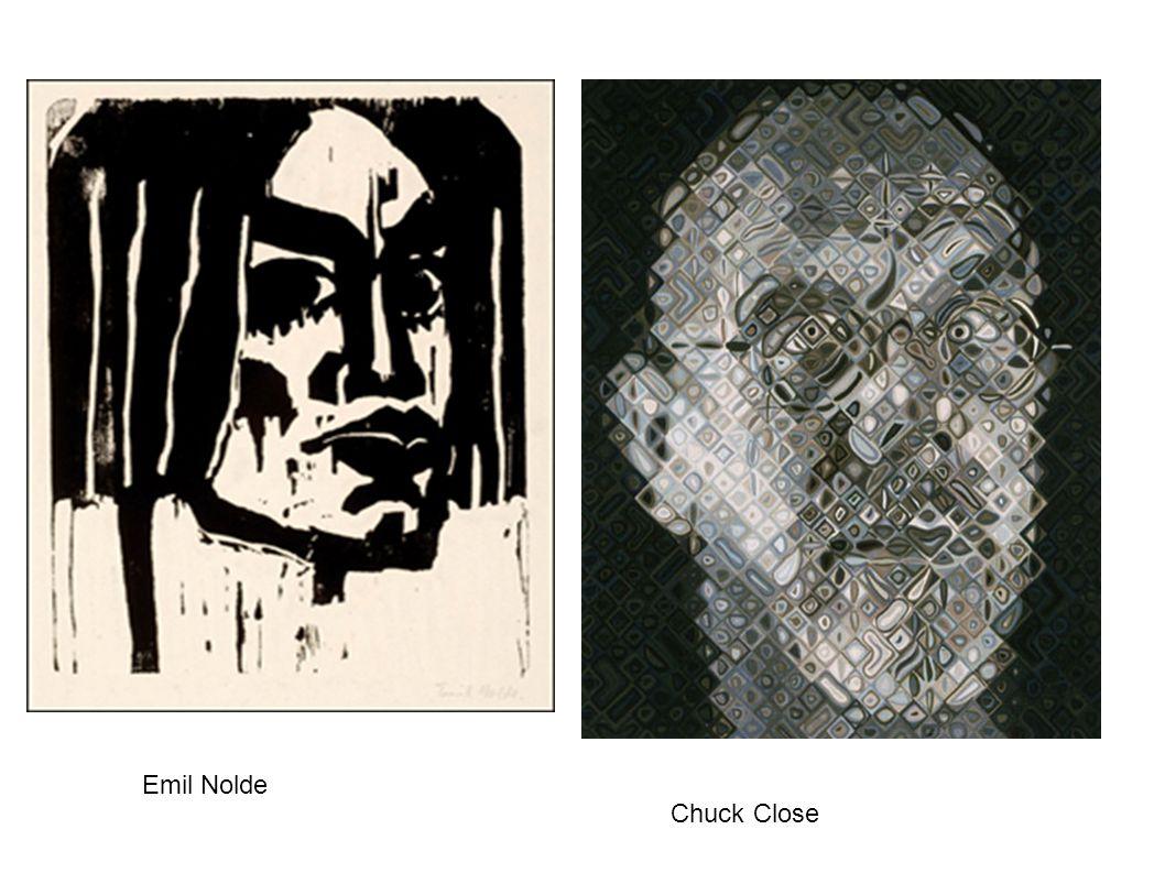 Chuck Close Emil Nolde