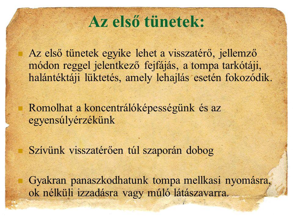 ….2. Dohányzás:  A magyar lakosság 35%-a, mintegy l,5 millió férfi és 1 millió nő dohányzik.