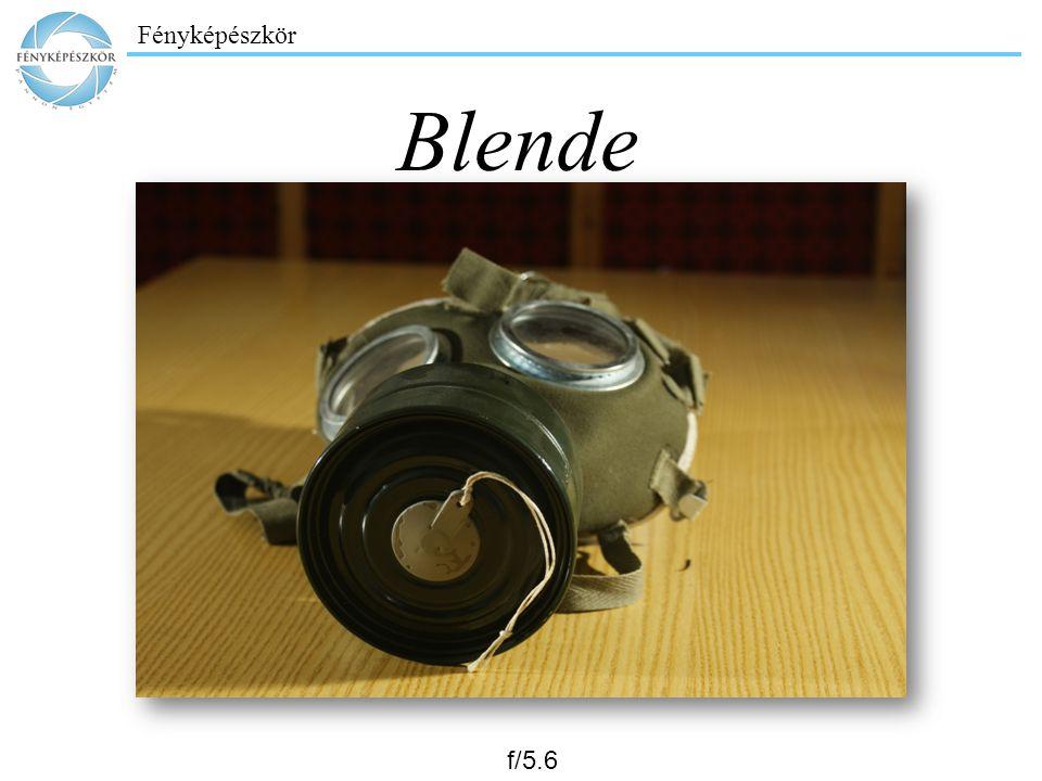 Fényképészkör Blende f/5.6
