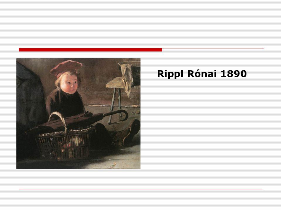 Rippl Rónai 1890