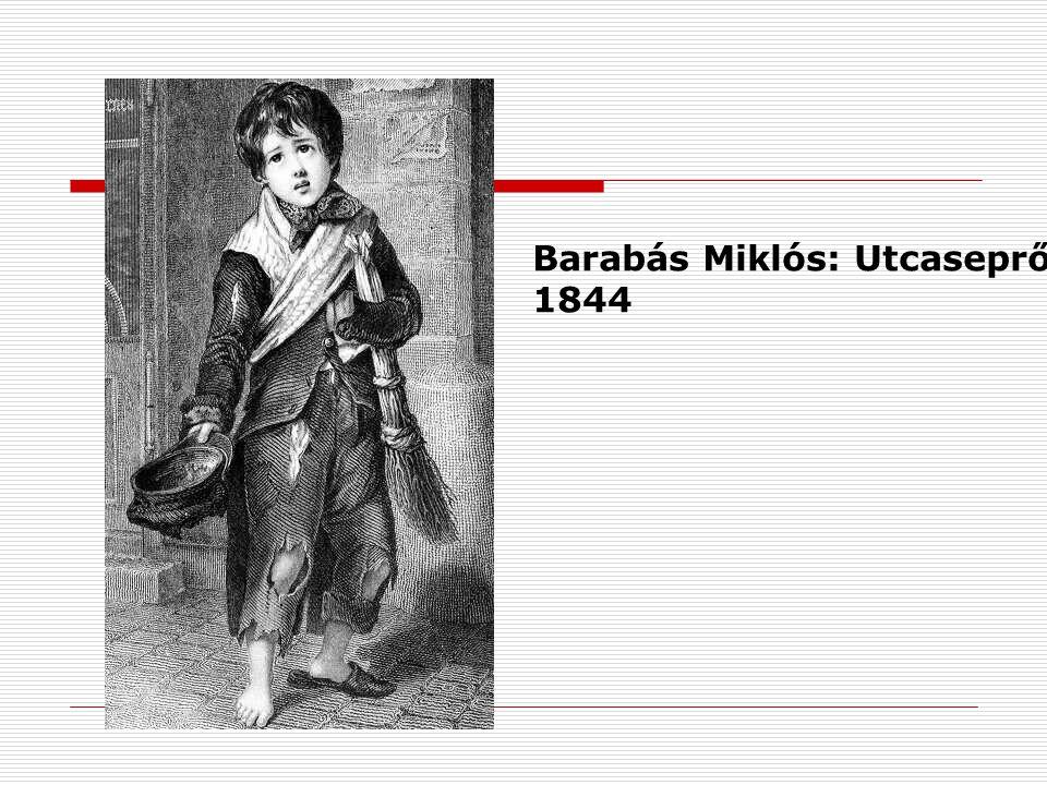 Barabás Miklós: Utcaseprő 1844