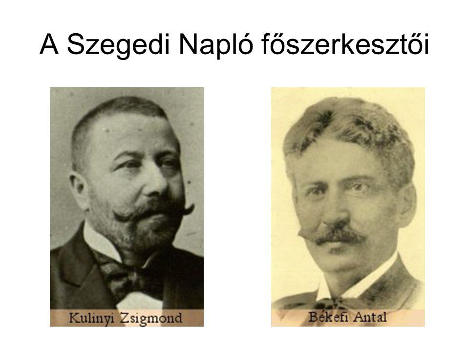 Mikszáth Kálmán és Tömörkény István