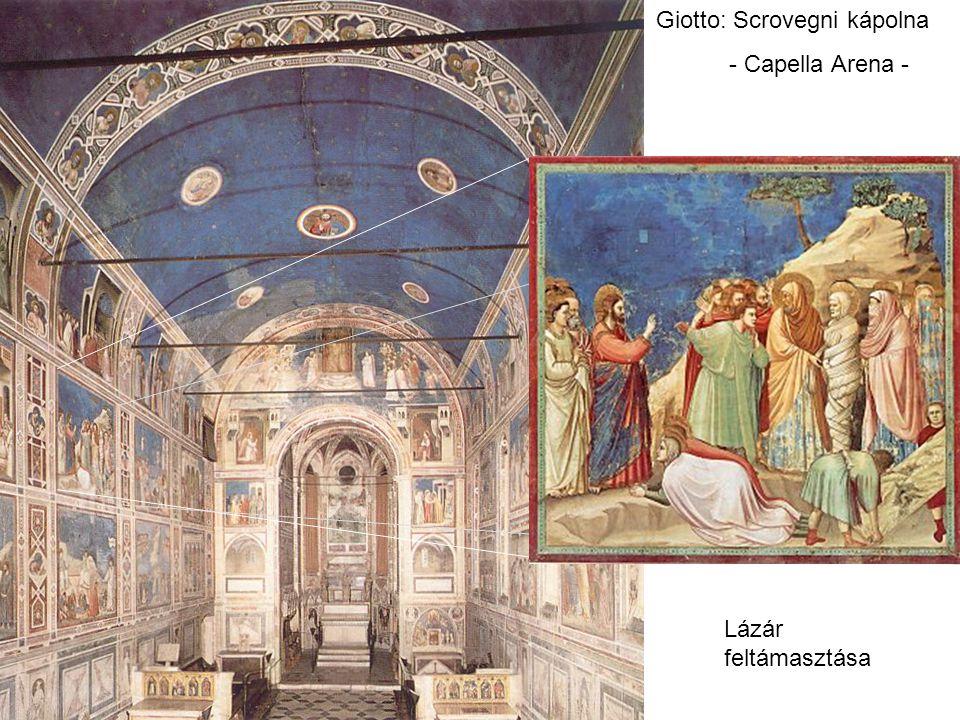 Giotto: Scrovegni kápolna - Capella Arena - Lázár feltámasztása