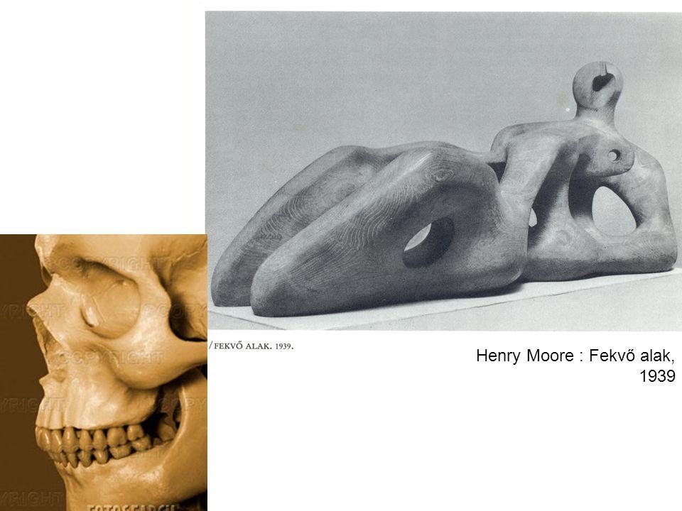 Henry Moore : Fekvő alak, 1939