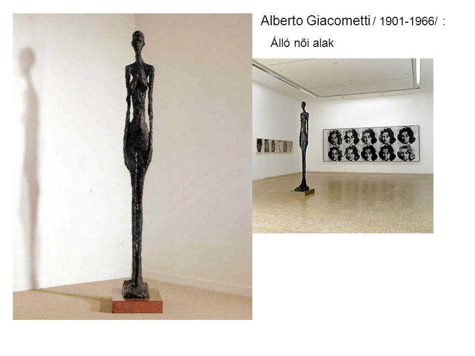 Alberto Giacometti / 1901-1966/ : Álló női alak