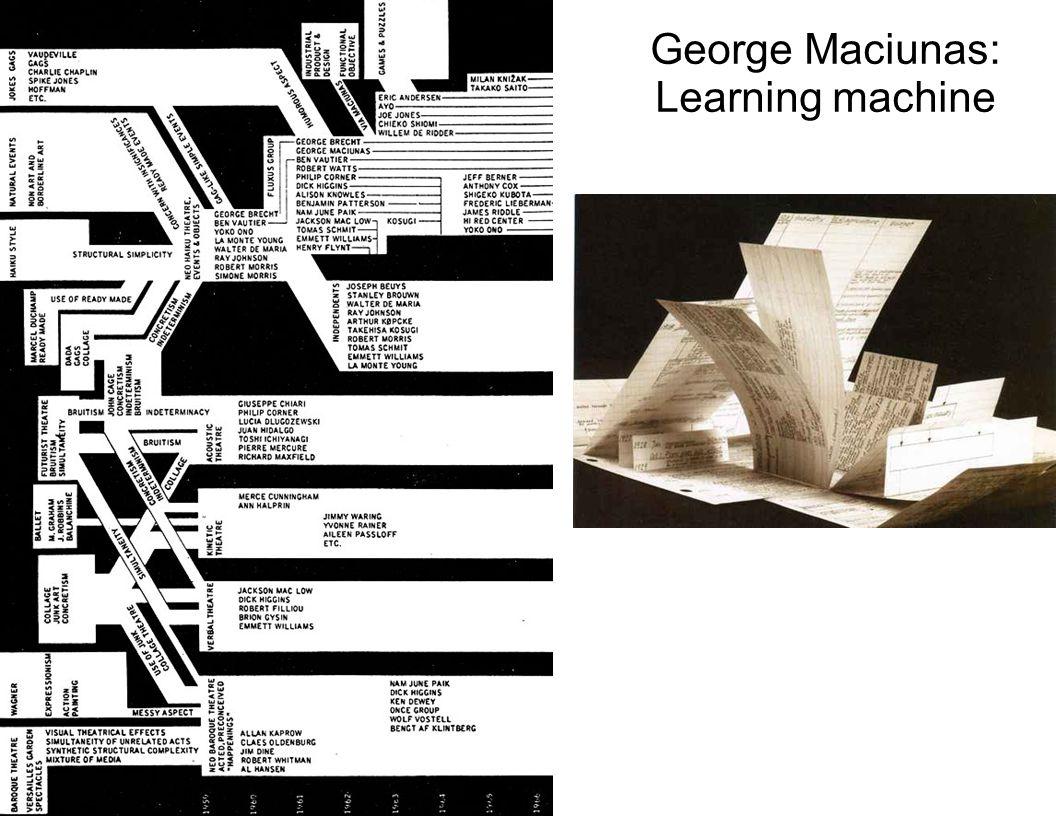 George Maciunas: Learning machine