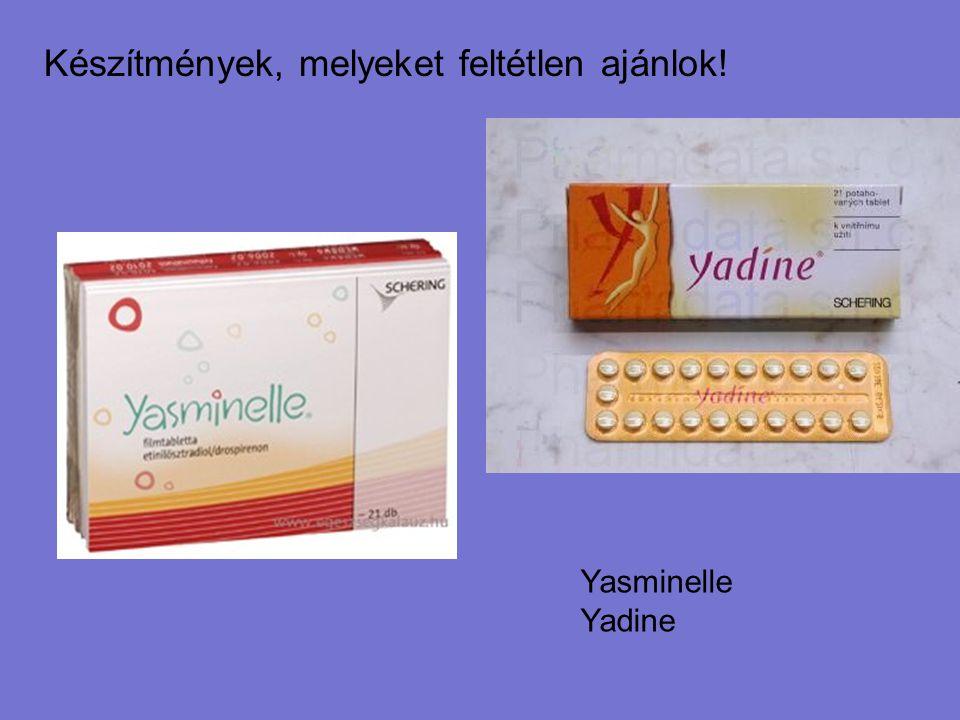 Készítmények, melyeket feltétlen ajánlok! Yasminelle Yadine