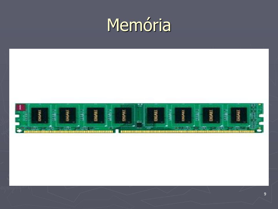 10 Memória ► A memória tárolja a CPU által végrehajtandó programokat és a feldolgozásra váró adatokat.