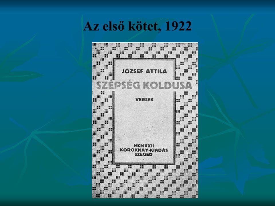 Az első kötet, 1922