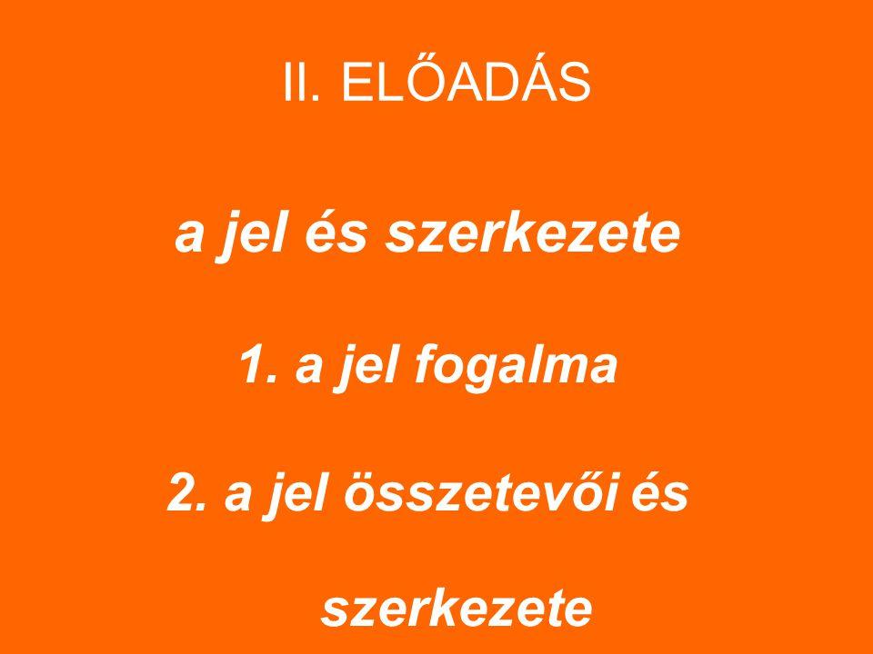 1.2.1 Jelmodellek: 2 jelmodell – diadikus – kettős szerkezetű jelmodell (Saussure) – triadikus – hármas szerkezetű jelmodell (Peirce)