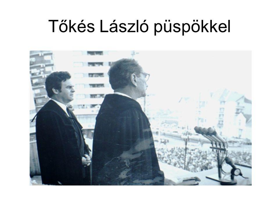 Tőkés László püspökkel