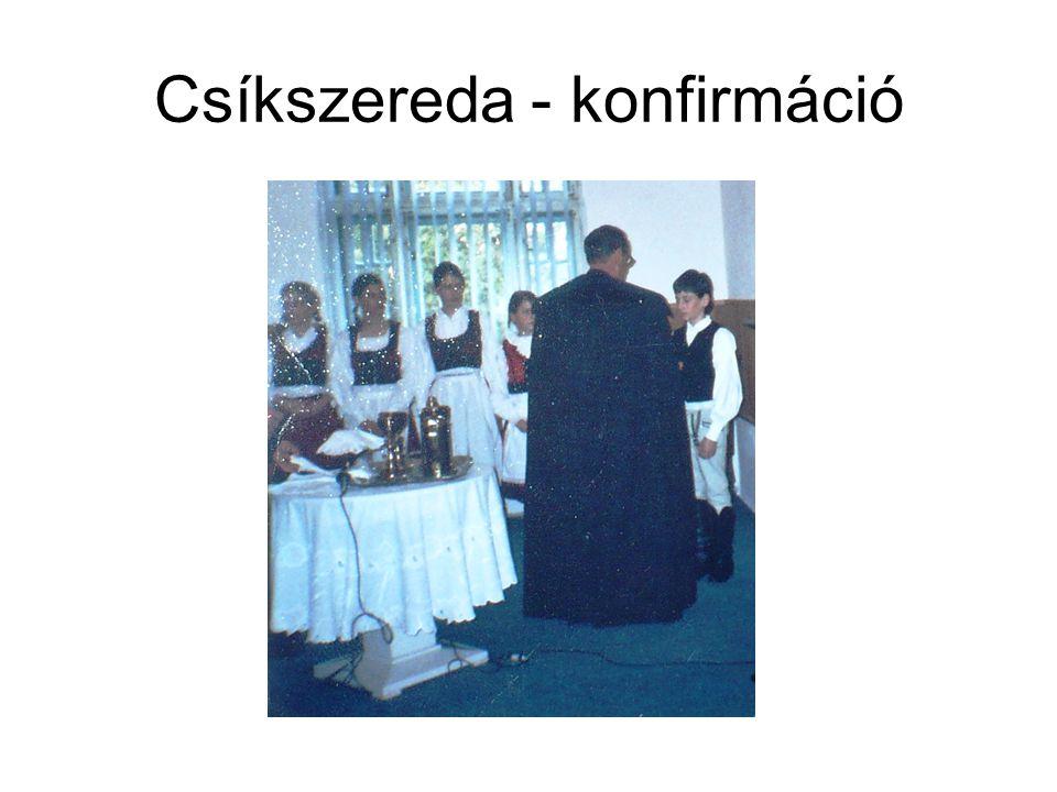 Csíkszereda - konfirmáció