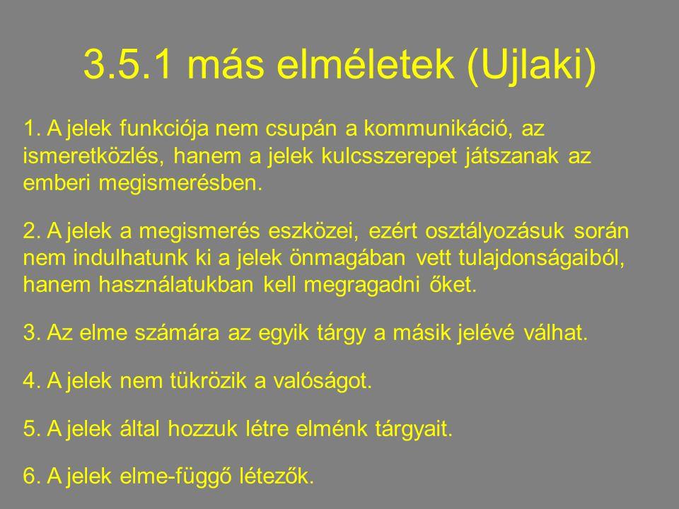 3.5.1 más elméletek (Ujlaki) 1.