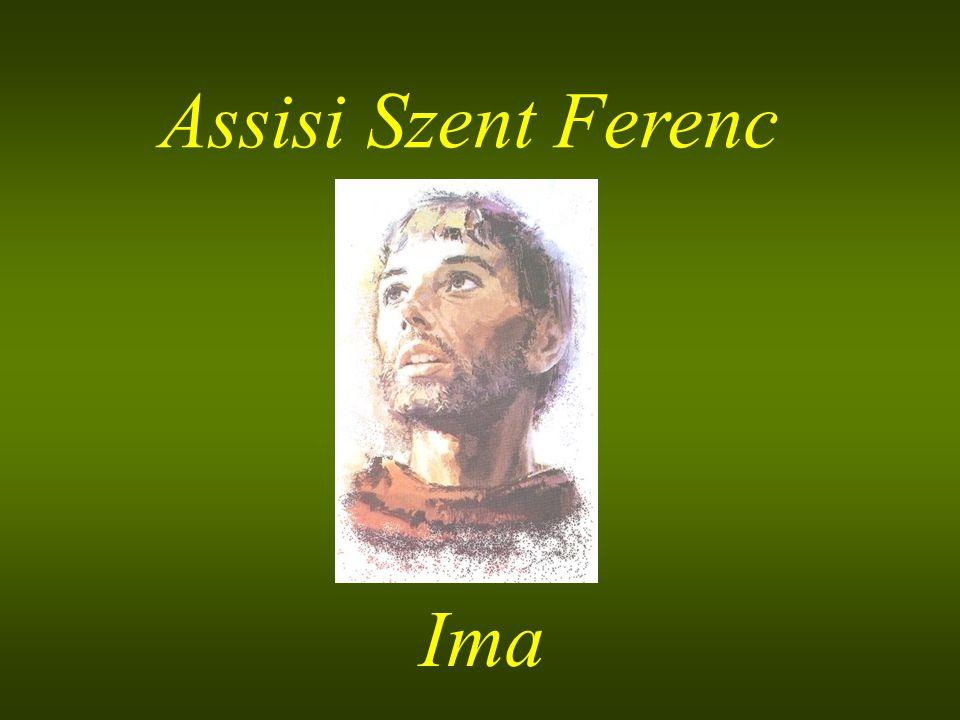 Assisi Szent Ferenc Ima