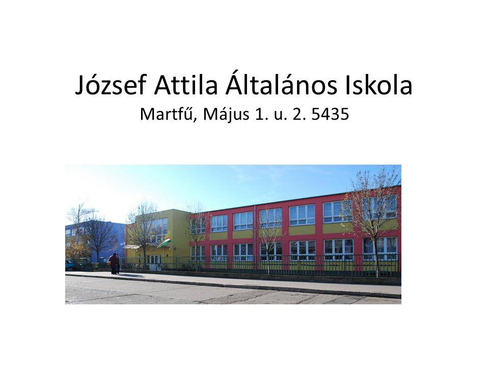 József Attila Általános Iskola Martfű, Május 1. u. 2. 5435
