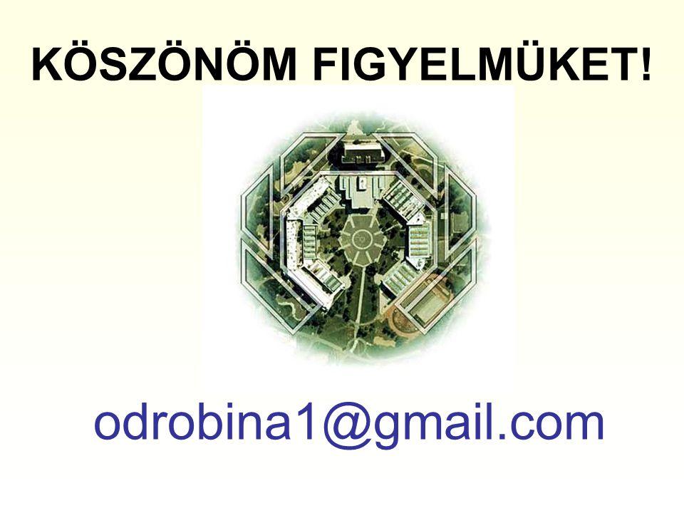 KÖSZÖNÖM FIGYELMÜKET! odrobina1@gmail.com