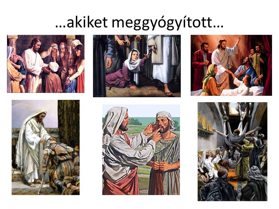 …akiket meggyógyított…
