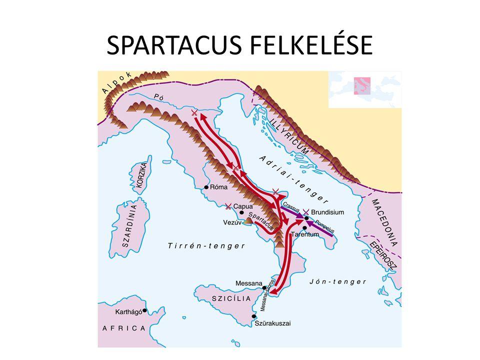 SPARTACUS FELKELÉSE