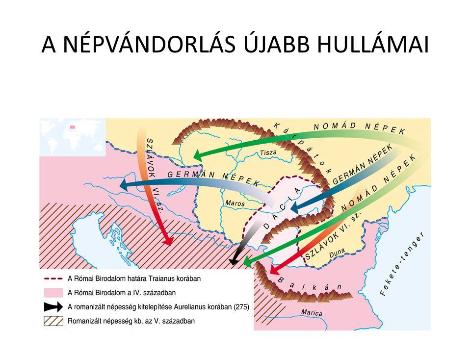 A NÉPVÁNDORLÁS ÚJABB HULLÁMAI