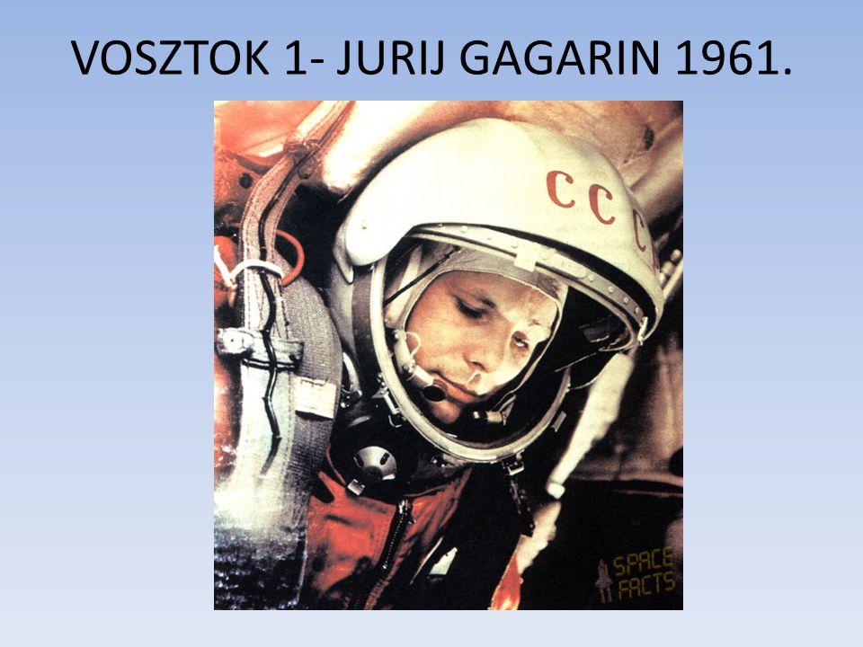 VOSZTOK 1- JURIJ GAGARIN 1961.
