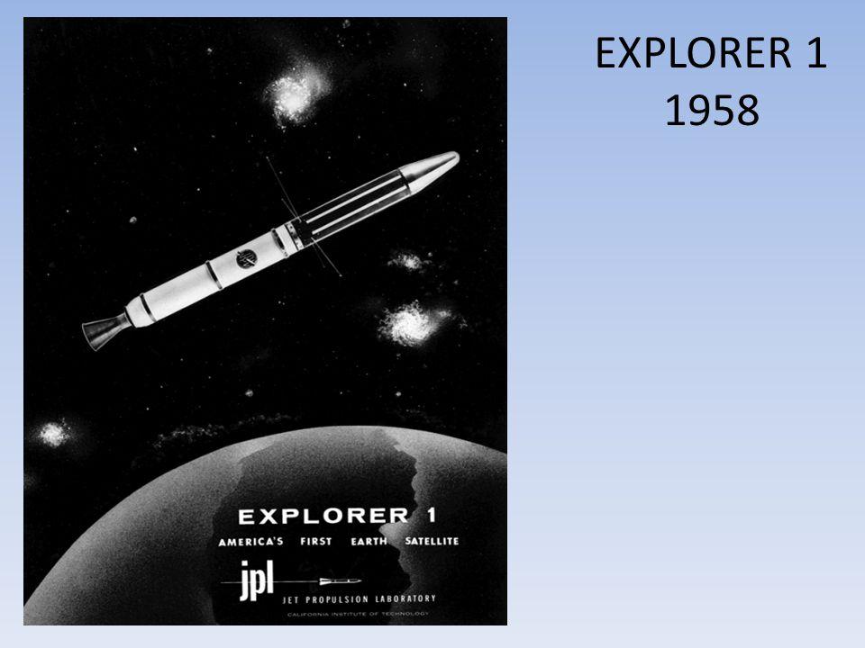 EXPLORER 1 1958