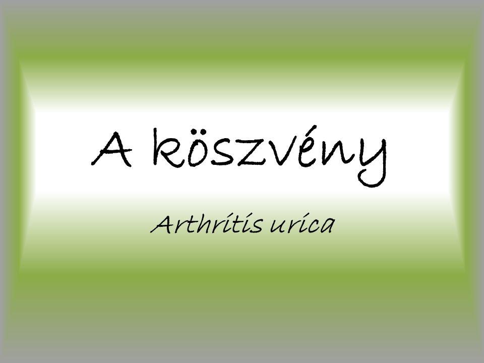 A köszvény Arthritis urica