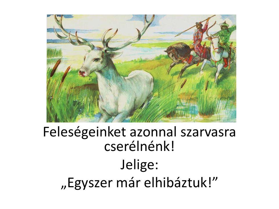 """""""Fehér lovat adunk földért, vízért, fűért! Jelige: """"Házhoz jövünk!"""