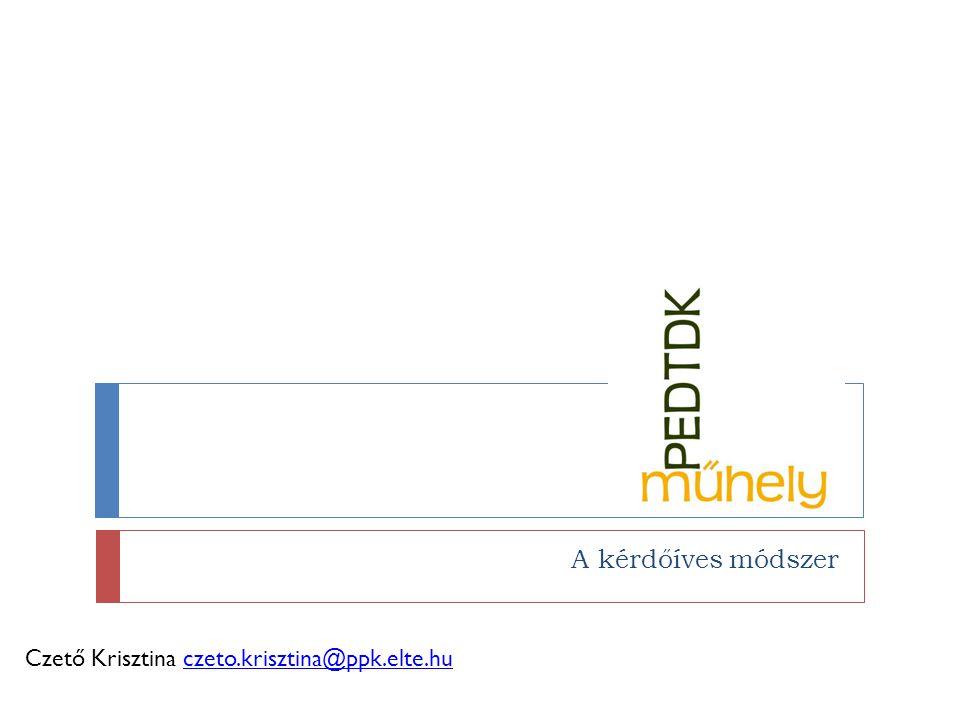 Műhelynaptár  Kari konferencia:  2012.november vége – december eleje.