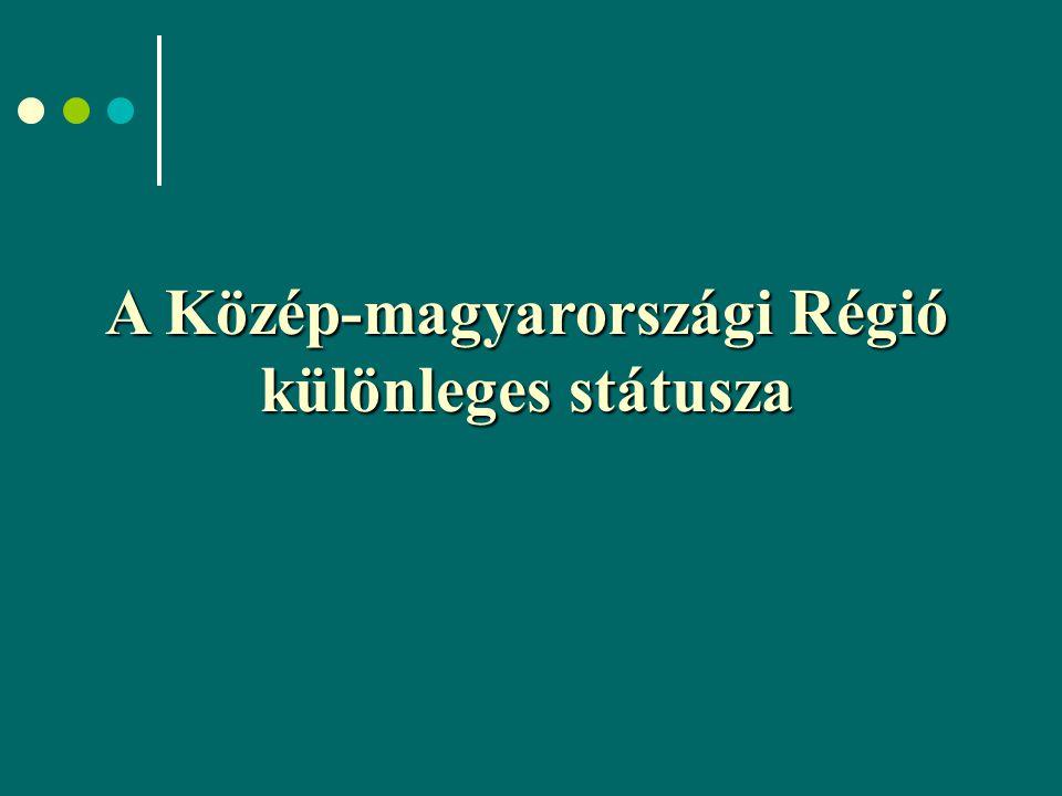 A Közép-magyarországi Régió különleges státusza