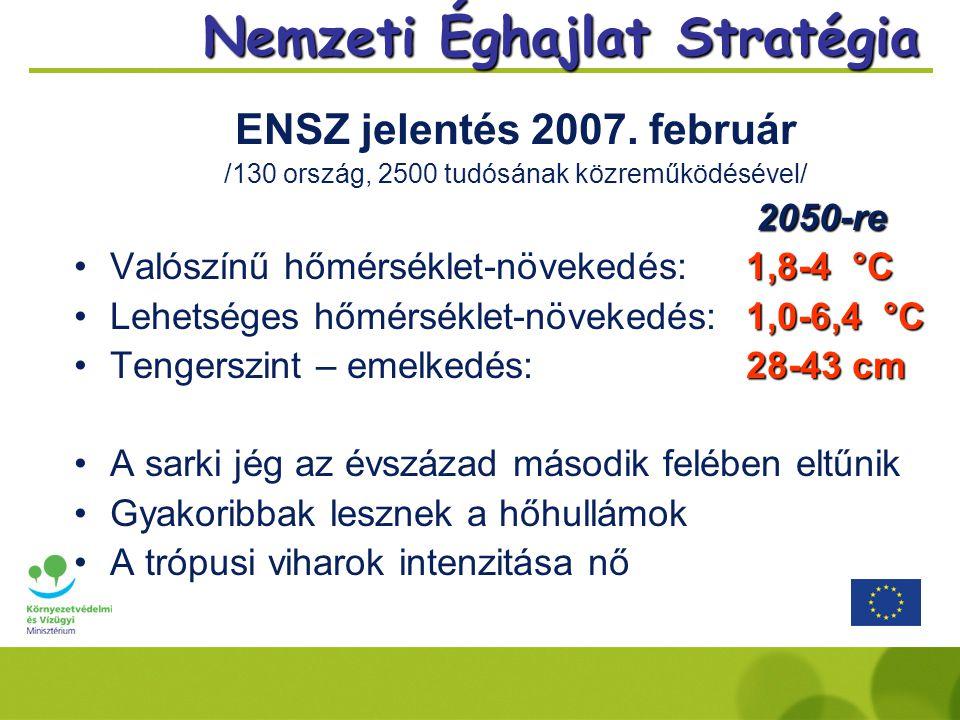Nemzeti Éghajlat Stratégia ENSZ jelentés 2007.