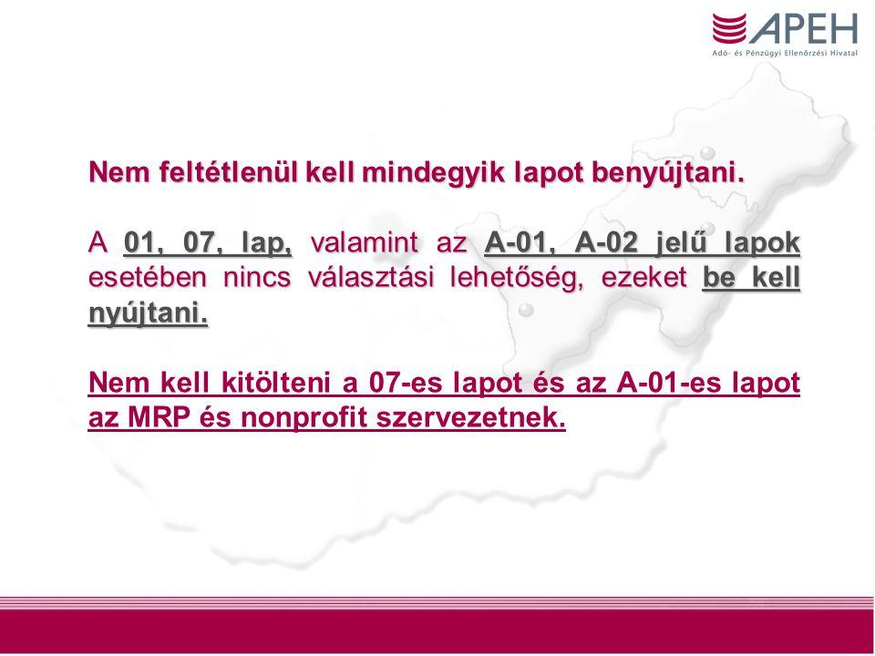 15 0929 D blokk Nyilatkozat a jövedelem- (nyereség-) minimum alkalmazásáról Nem kell a jövedelem- (nyereség-) minimumra vonatkozó rendelkezést alkalmazni az adózónak  az előtársasági adóévben és az azt követő adóévben, illetve az első adóévében, amennyiben az előtársasági időszakról külön beszámoló adóévében, amennyiben az előtársasági időszakról külön beszámoló készítésére nem kötelezett, vagy készítésére nem kötelezett, vagy  ha a 2.