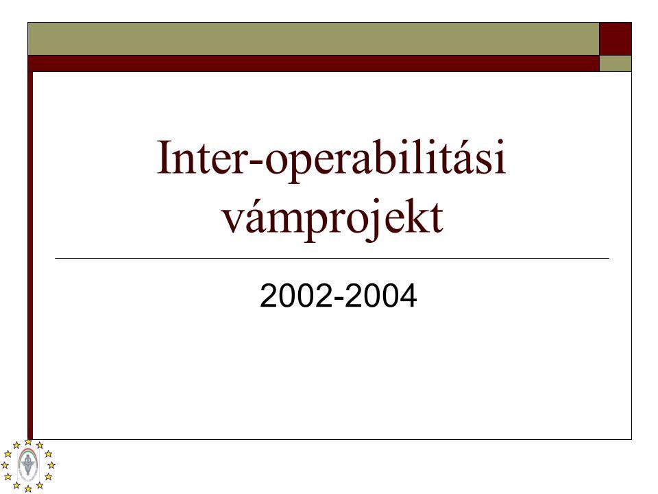 Inter-operabilitási vámprojekt 2002-2004