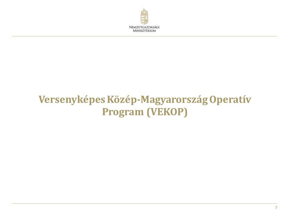8 Versenyképes Közép-Magyarország Operatív Program (VEKOP)