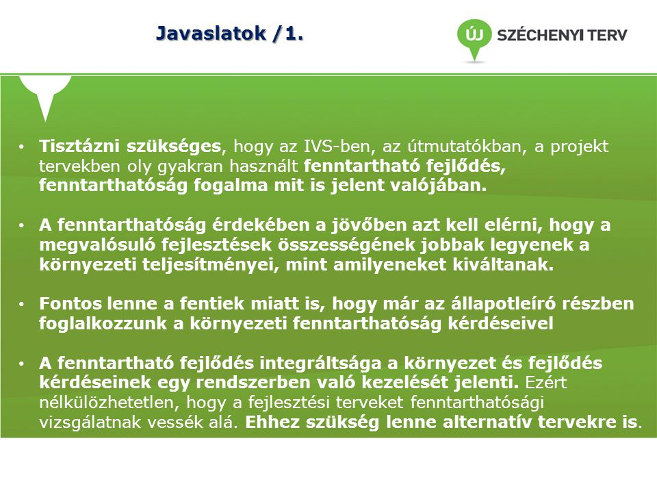 Javaslatok /1.