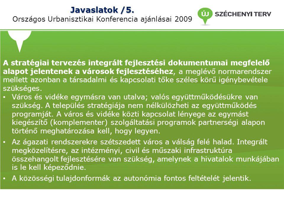 Javaslatok /5.Javaslatok /5.