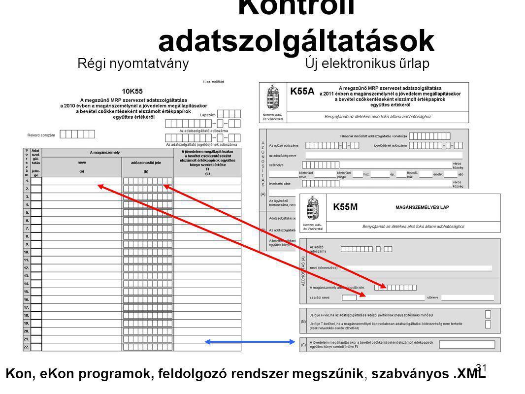 1243TAO bevallás megszűnő EVA adózó Tao.