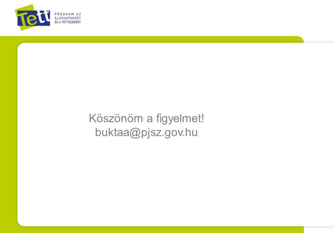 Köszönöm a figyelmet! buktaa@pjsz.gov.hu