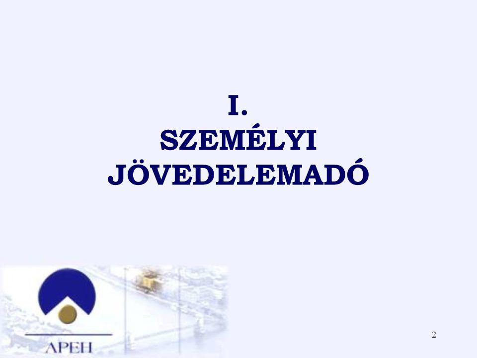 2 I. SZEMÉLYI JÖVEDELEMADÓ