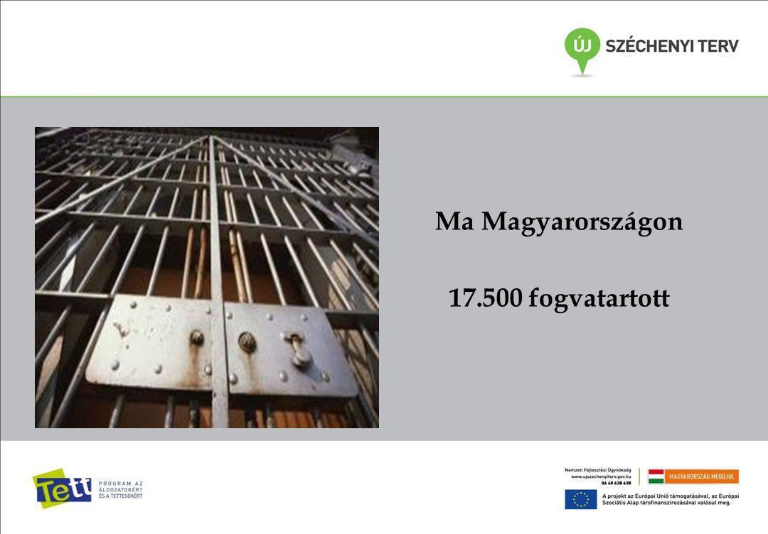 Ma Magyarországon 17.500 fogvatartott
