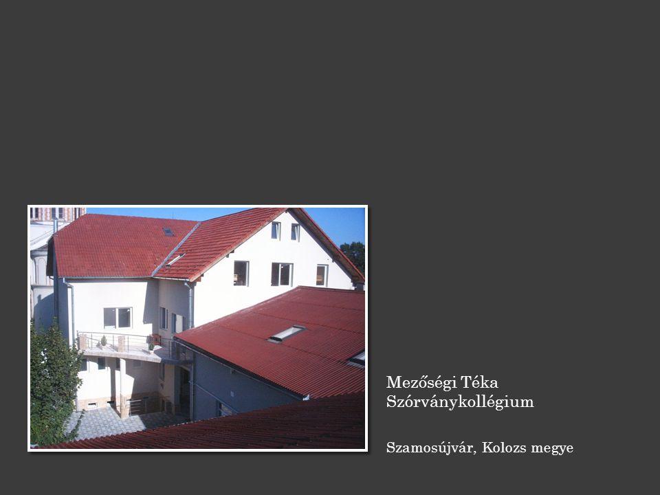 Mezőségi Téka Szórványkollégium Szamosújvár, Kolozs megye
