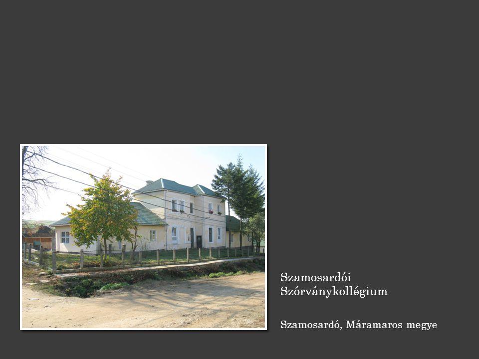 Szamosardói Szórványkollégium Szamosardó, Máramaros megye