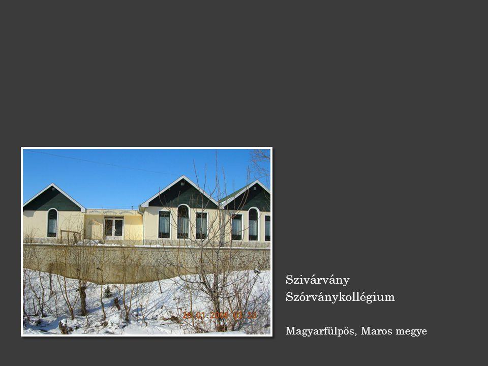 Szivárvány Szórványkollégium Magyarfülpös, Maros megye