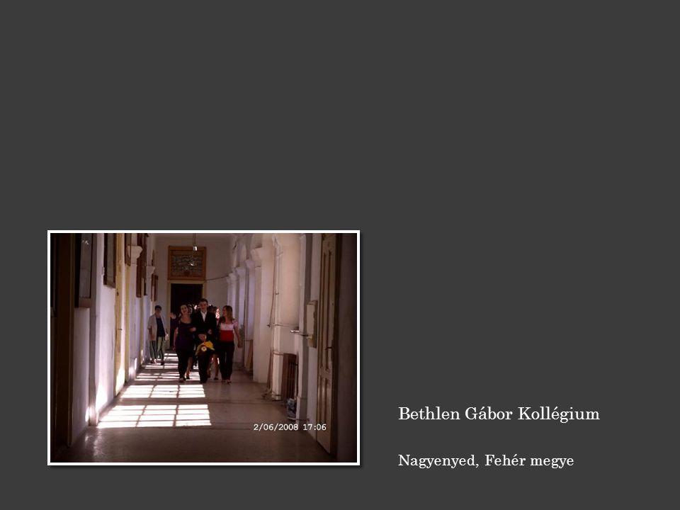 Bethlen Gábor Kollégium Nagyenyed, Fehér megye