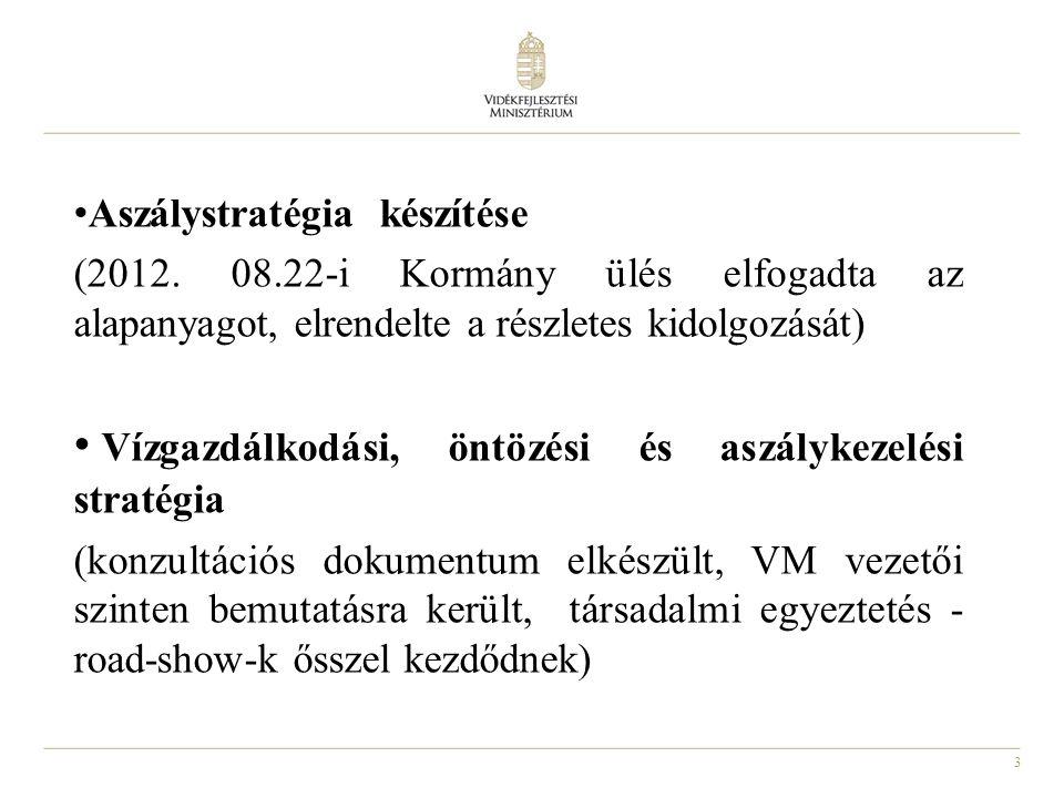 4 Nemzetközi jelentési kötelezettségek 2000/60/EK Víz Keretirányelv szerinti EU jelentés (Intézkedési Programok végrehajtásáról) folyamatban van (NEKI) Nitrát Irányelv 3.