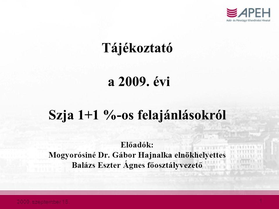2009.szeptember 15. 2 Bevezetés  1997.