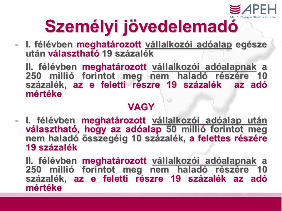 14 Személyi jövedelemadó -I.
