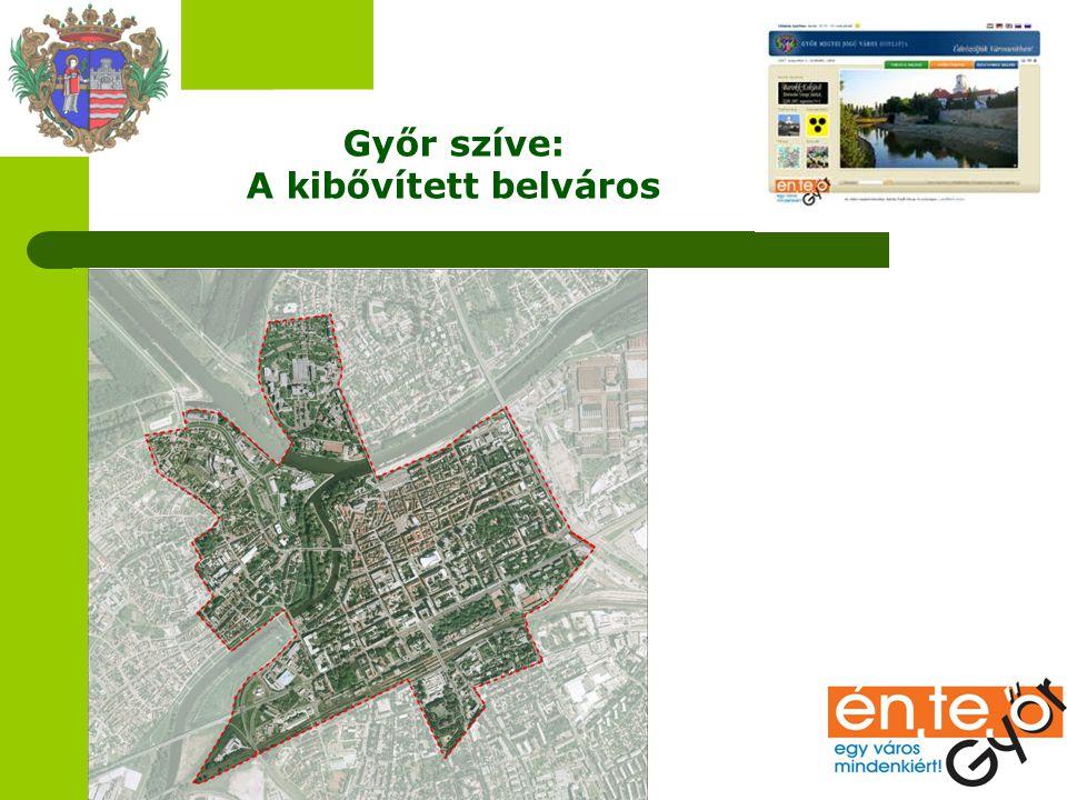 Győr szíve: A kibővített belváros